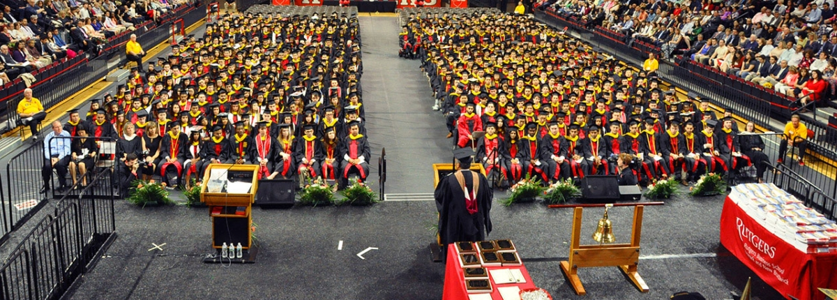 RUTGERS BUSINESS SCHOOL CONVOCATION CEREMONY, CLASS OF 2016