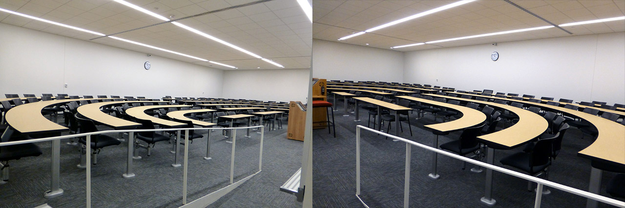 Classrooms (Fixed Seating)